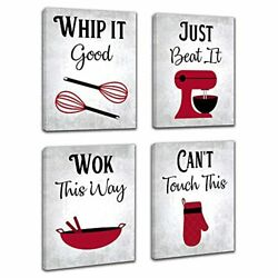 Inspirational Kitchen Canvas Framed Wall Art Decor Prints Posters $34.62