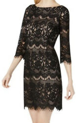 Womens Lace Cocktail Dress Size 12 $16.00