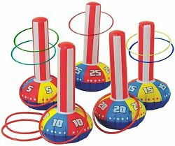 Inflatable Ring Toss Game by Gamie Super Fun Outdoor Games for Kids amp;... $18.95