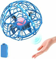 Hand Operated Drone Kids Toys Headless Induction Levitation RC Quad 3D Flip Toys $20.99