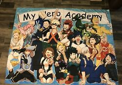 Boku no My Hero Academia Tapestry Art Wall Hanging Cover Poster 60 X 80 in $20.00