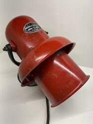 Vintage Federal Sign and Signal Corp Civil Defense Siren Model D WORKS $349.99