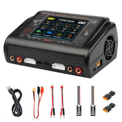 HTRC T400 Pro RC Charger Dual DC 400W AC 200W Discharger For LiPo LiHV LiFe $111.31