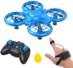 Mini Drones For Kids Multiple Remote Controls Hand Operated RC Quadcopter $41.91