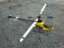 VINTAGE CENTURY FALCON 46 SE SPECIAL EDITION RC GAS HELICOPTER $450.00