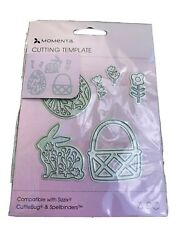 Momenta cutting template Easter For Die Cutting Sizzix Cuttlebug Spellbinder $5.00