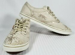 Vans Off The Wall Women#x27;s Palm Tree Print Shoes Sneakers 500714 Size 8.5 $29.95
