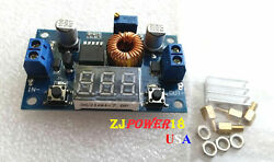 5A 75W DC DC Adjustable step down Power module with LED voltmeter $8.99