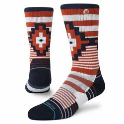 New with Tags Stance Socks quot;Wallach Crewquot; Classic L 9 12 Southwest $12.99