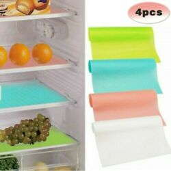 Anti frost Fridge Mats Drawer Environmental Kitchen Liners Pad Protective C $16.73