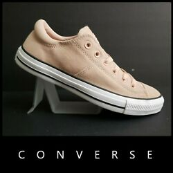 Converse All Star Women 7.5 Men 9.5 Madison OX Sneakers Low Shoes Pink Nwt $57.75