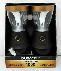 Duracell Led Lanterns 1000 Lumens W usb Connection 2 Pack $23.00