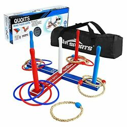 Wooden Ring Toss Game Set Throwing Game Indoor Outdoor Games for Adults $35.29