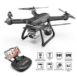 Holy Stone HS700D FPV Drone With 2K HD Camera GPS WIFI RC Quadcopter Brushless $190.79