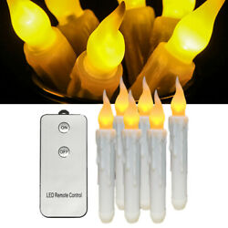 Flameless Flickering Remote Control Battery Powered Taper Led Candle Light US $16.89