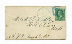 1880#x27;s Chicago Illinois Cross Fancy Blure Cancel Cover $2.99