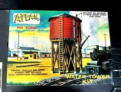 Vintage NOS Atlas Kit #703 HO Scale #703 WATER TOWER 3 Colors NEW IN BOX $23.99