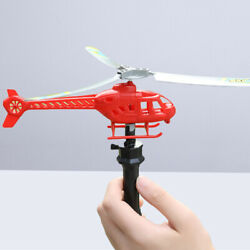 String Helicopter Creative Flight Plane Gift Toy for Toddler Children $6.22