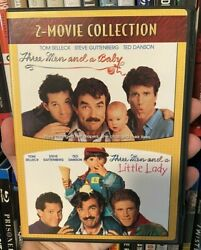 Three Men and a Baby 1987 amp; Three Men and a Little Lady 1990 DVD Set $3.49