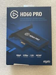 Elgato Game Capture Hd60 Pro Stream Capture • NEW SEALED • PRIORITY SHIPPING $149.00