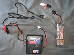 Duratrax Onyx 100 Ac dc Peak Charger NiCd NiMH DTXP4190 RC Charger W BATTERY $60.00