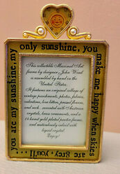 Rare Maximal Art John Wind Picture Frame Austrian Crystals amp; Pearl 14kt Gold $39.07