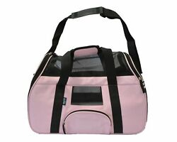 Pet Dog Small Cat Carrier Soft Sided Comfort Bag Travel Case Airline Approved $18.99