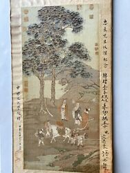Antique Chinese Tapestry $1000.00
