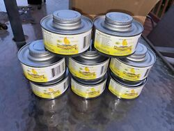 LOT 8 Canned Fancy Heat W Wick Indoor Outdoor Buffet Warming Camping $21.00
