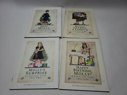Lot 4 Molly Paper and Hard Pleasant Company American Girls Collection Books 1944 $18.99