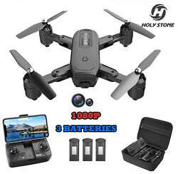 Holy Stone D30 RC Drone Foldable Quadcopter with FPV 1080P HD Camera 3 Batteries $92.79