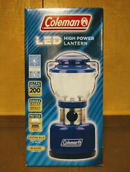 Coleman LED High Power Classic Lantern Special Edition Autism Blue 200 Lumens $39.99