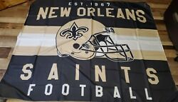 New Orleans Saints Tapestry Wall Hanging Room Decor 50x60 $11.50