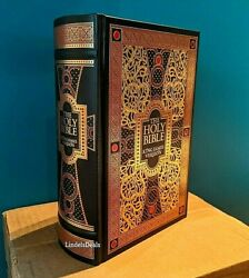 The Holy Bible King James Version Gustave Dore Illustrated Leather Bound NEW $39.99