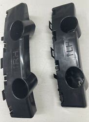 NISSAN MURANO 2015 2020 FRONT Bumper Cover Bracket SET RIGHT amp; LEFT 2 PEACE $24.99