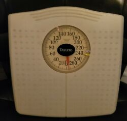Vintage Taylor Floor Weight Scale $22.99
