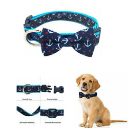 Dog Collar Bow Tie Soft Adjustable Bow tie Dog Collars for Small Dogs $7.59