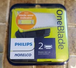 Philips Norelco OneBlade Replacement Blade 2 Pack NEW