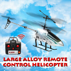 Metal 3.5CH 33#x27;#x27; Giant RC Helicopter Gyro Remote Control Outdoor Large Airplane $48.03