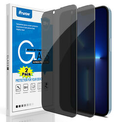 For iPhone 12 13 Pro Max Mini Privacy Anti Spy Tempered Glass Screen Protector $5.95