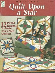 Quilt Upon A Star 12 Designs House Of White Birches 141104 $3.99