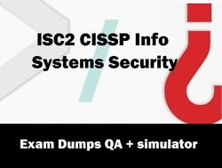 ISC2 CISSP Info Systems Security practice Questions Answers $4.35