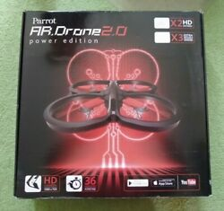 Parrot AR. Drone 2.0 Quadcopter Power Edition Quadcopter with HD Camera USED $129.99