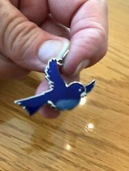 Bluebird charm cute for necklace or ornament $8.50