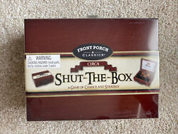 Front Porch Classics Circa Shut The Box 53501RC for ages 8 and up $19.39