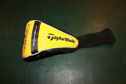 New Taylormade RBZ Stage 2 Driver Head Cover Rocketballz Black Silver Yellow $8.95