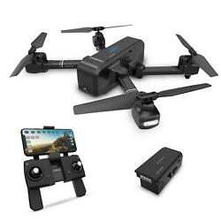 Deerc DE25 Foldable RC Drone with 1080P HD Camera Brushless RC FPV Quadcopter $79.99