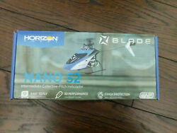 Blade Nano S2 RC Micro Helicopter Blue BLH1300 $89.95