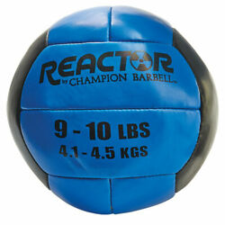 Champion Barbell Reactor Medicine Ball With Blue Finish 1266252 $37.06