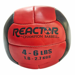 Champion Barbell Reactor Medicine Ball With Red Finish 1266238 $31.12